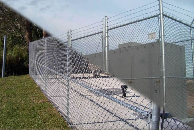 Hot Dipped Galvanised Mesh Security Fencing