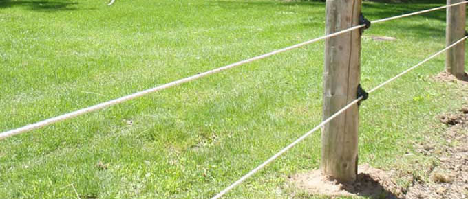 Galvanized Electric Fence