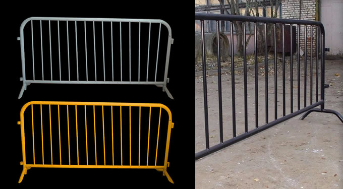 Color Painted Iron Fence Barrier