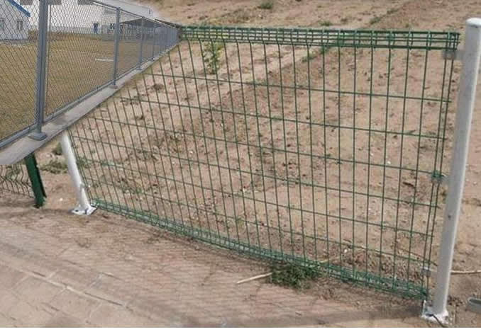 Portable Security Fencing : Portable fence temporary security