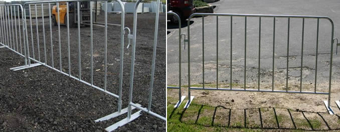 Temporary Tubular Fence Panels